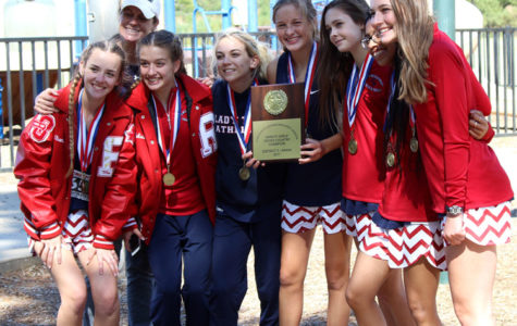 Cross country strides its way to school history